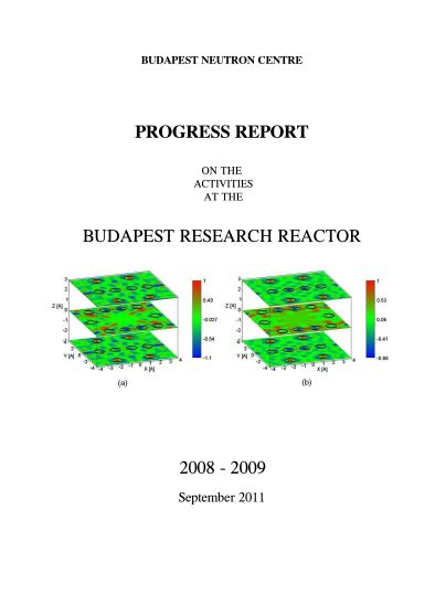 Progress Report 2008-2009